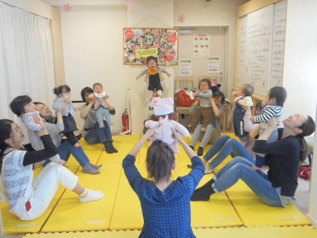 2017.6.8【守山店】ママヨガ&ベビータッチ