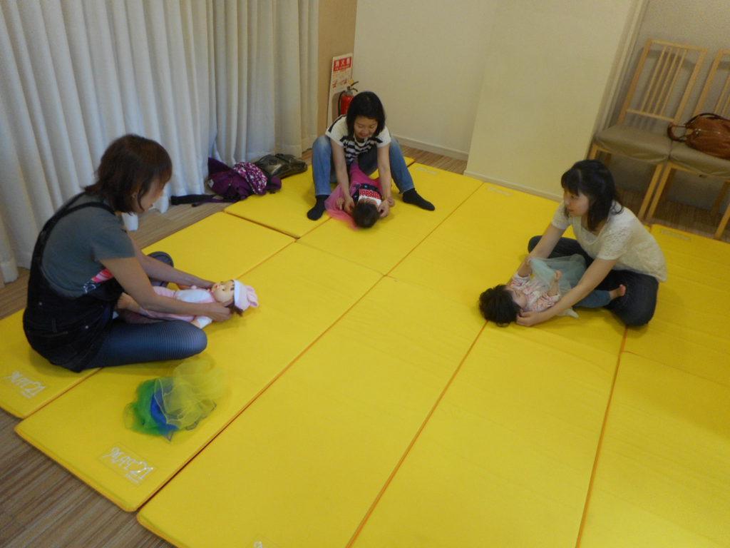 【守山店】ママヨガ&ベビータッチセミナー開催しました