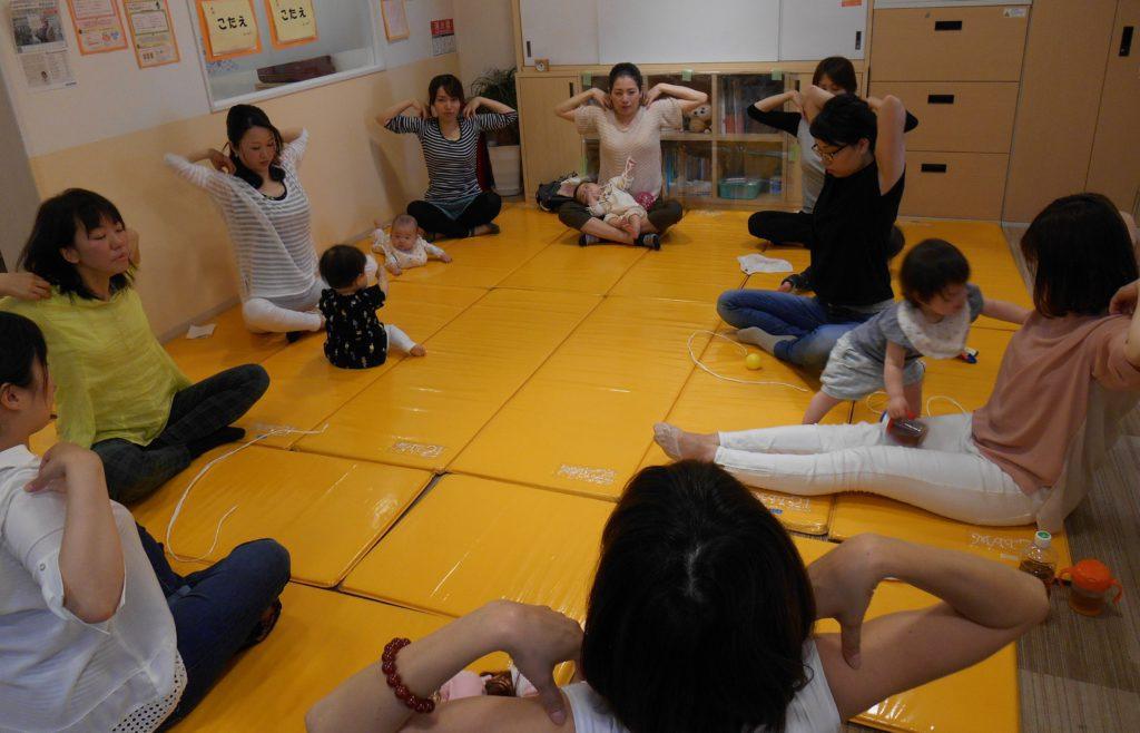 2017.11.16【黒川店】👶ベビータッチセミナー&ママヨガ👶