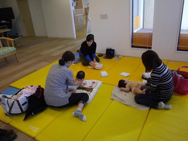 【黒川店】オイルベビーマッサージセミナーを開催しました!