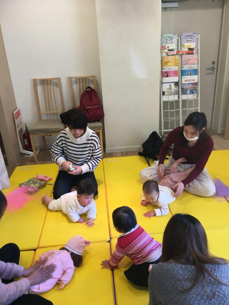 【守山店】ベビータッチ&ママストレッチ開催しました✨