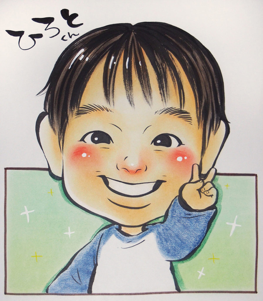 2018.4.21【植田店】🎶大好評!似顔絵イベント🎶