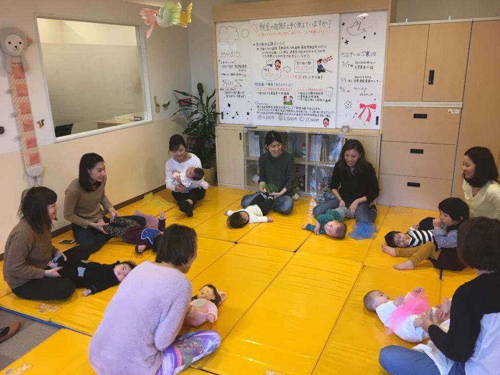 2018.05.24【植田店】👶ベビータッチ&ママストレッチ👶