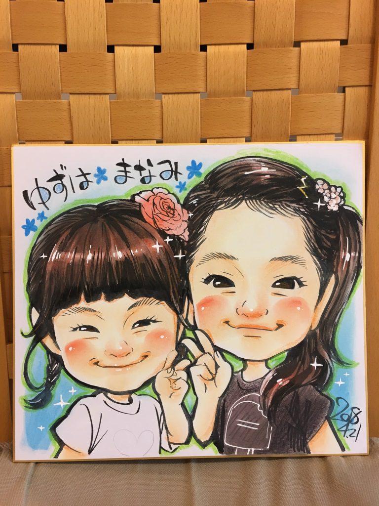 【植田店】似顔絵イベントを開催しました!