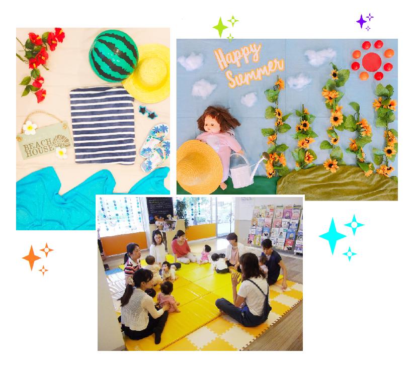 2018.7.19【黒川店】📷✨ごろりんフォト&ベビータッチ・ママストレッチ👶