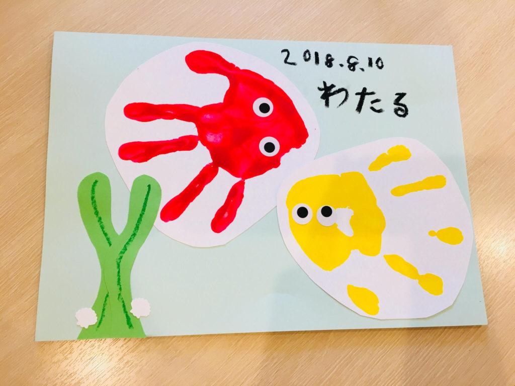 【植田店】2018年8月10日11日 ごろりん&手形アートイベント開催しました✨②