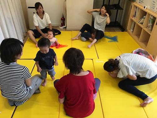 2018.9.13【守山店】👶ベビータッチ&ママストレッチ🌻