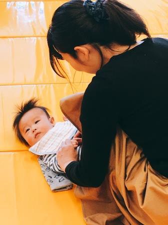 【黒川店】ベビータッチ&ママストレッチを開催しました🌼
