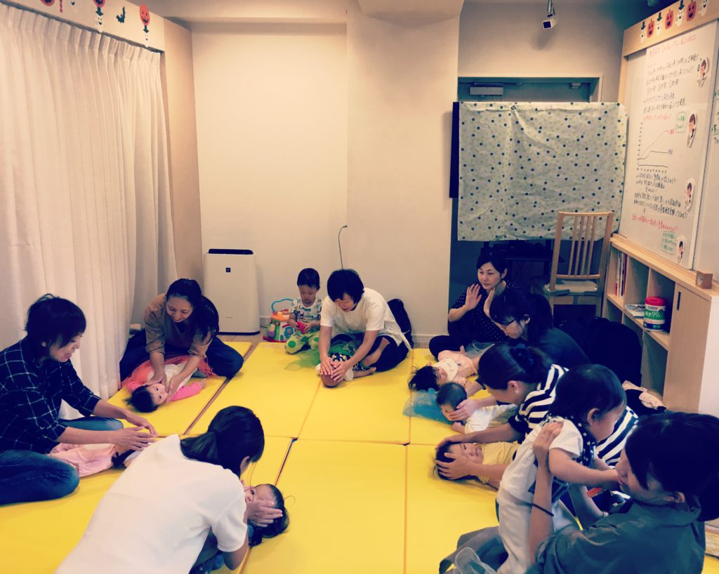 2019.07.11【守山店】👶ベビータッチ&ママストレッチ👶