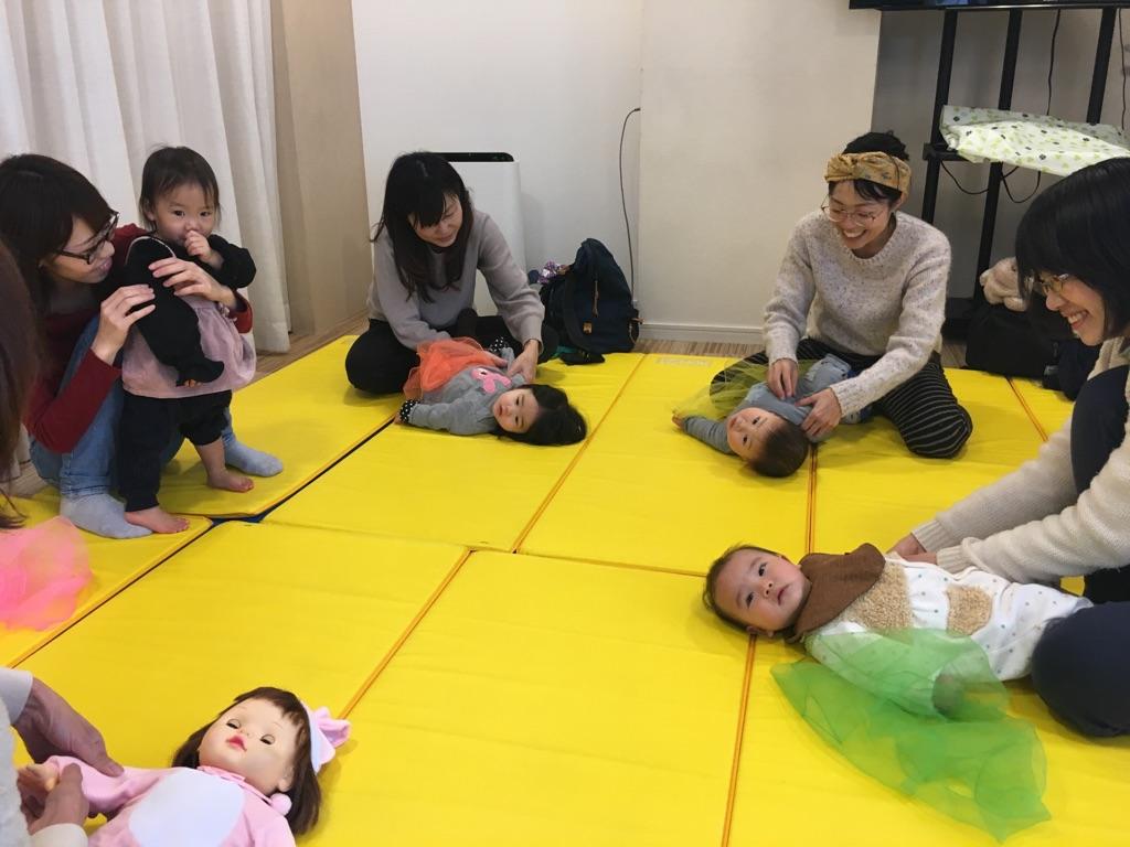 【守山店】ベビータッチ&ママストレッチセミナー開催しました☆