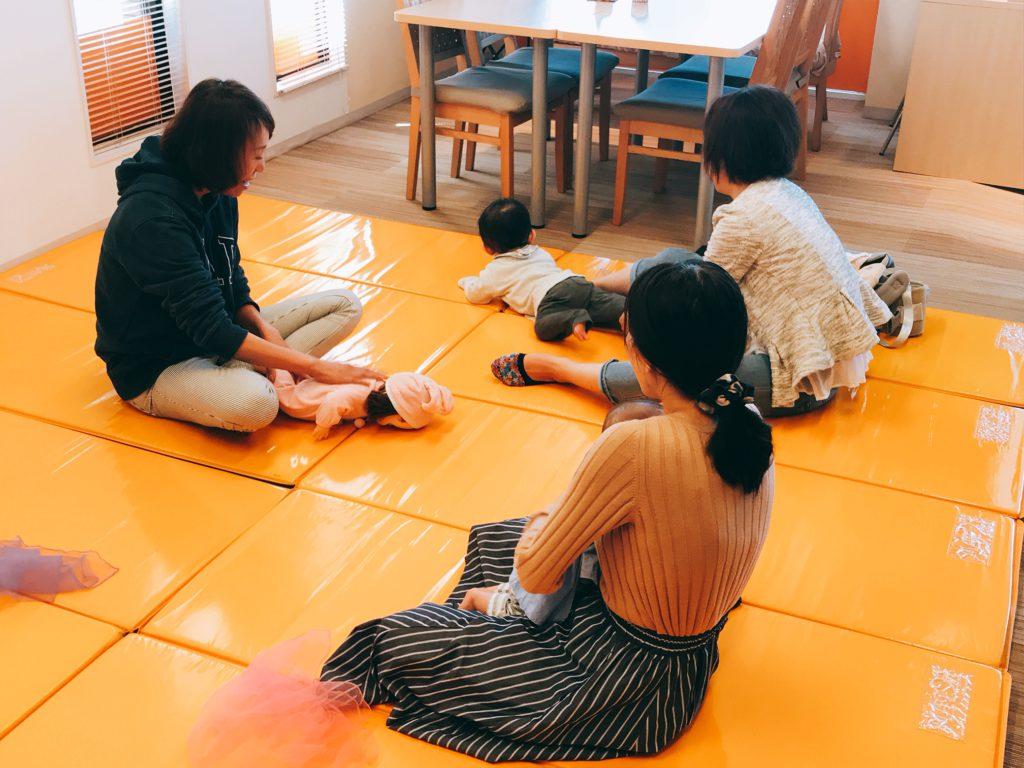 【黒川店】ベビータッチ&ママストレッチセミナーを開催しました🎵
