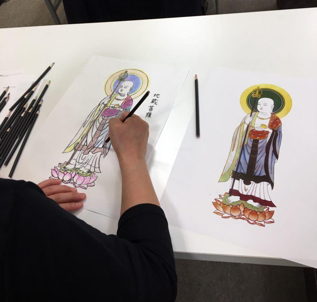 ♦♢大人の社会見学~万松寺での写仏体験と納骨堂見学~を開催しました!♢♦