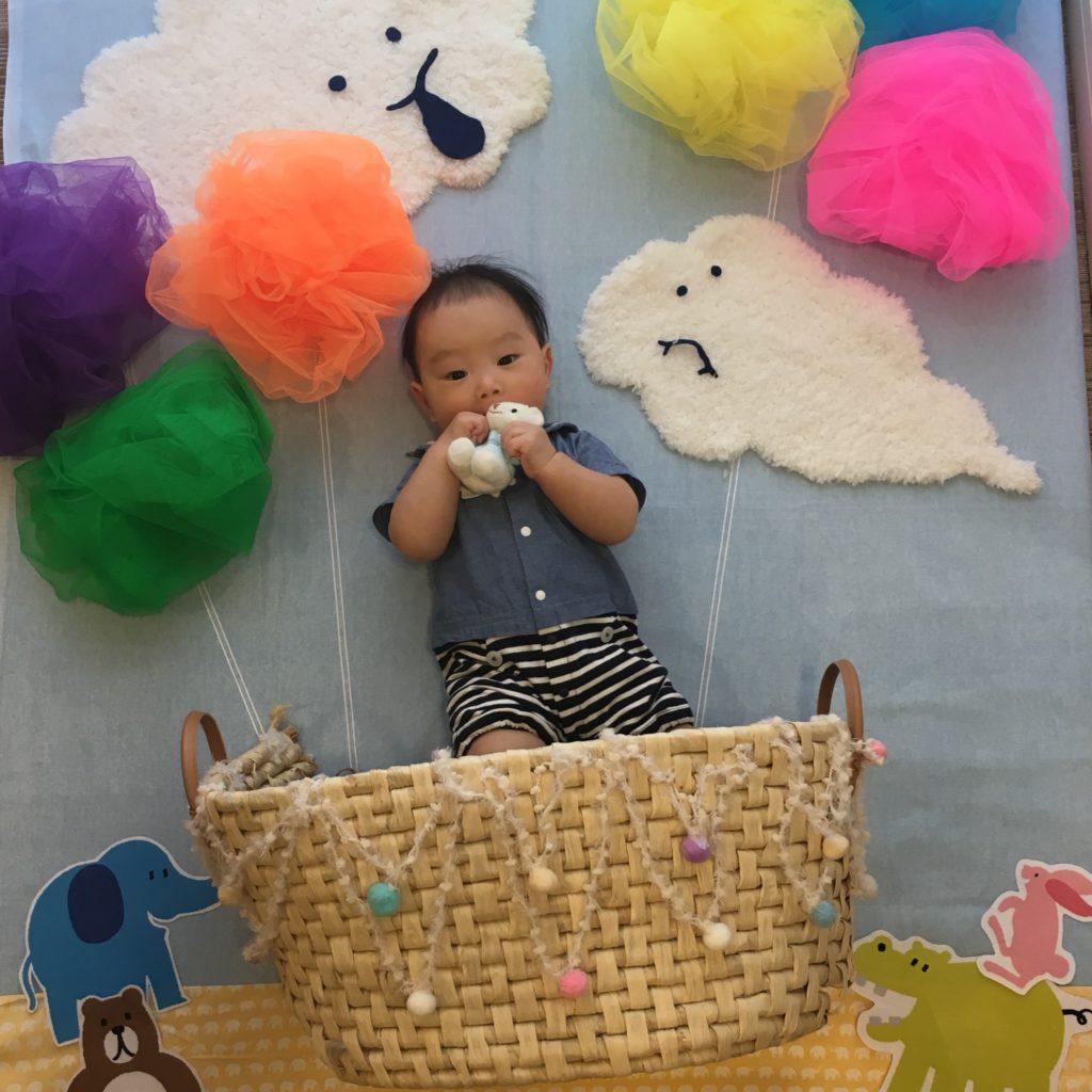 【守山店】ごろりんフォト&手形アートイベント開催しました②📷✨