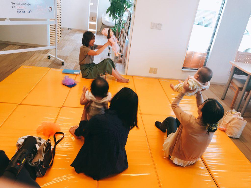 【黒川店】ベビータッチ&ママストレッチセミナーを開催しました👶