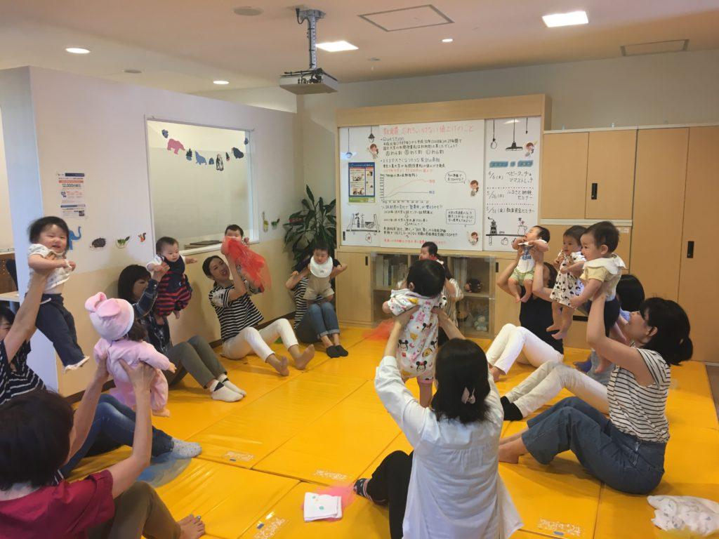 2019.09.05【植田店】👶ベビータッチ&ママストレッチ👶