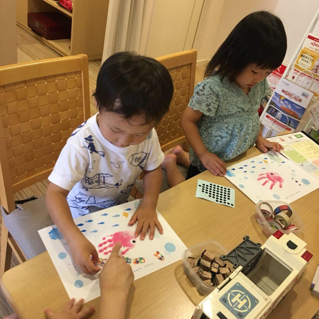 【守山店】ごろりんフォト&手形アートイベントを開催しました📷②
