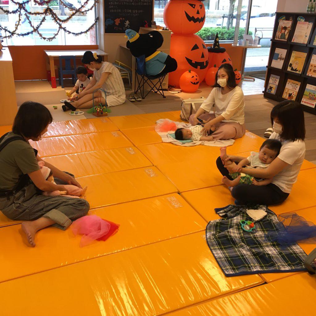 【黒川店】ベビータッチ&ママストレッチセミナー開催しました🐣