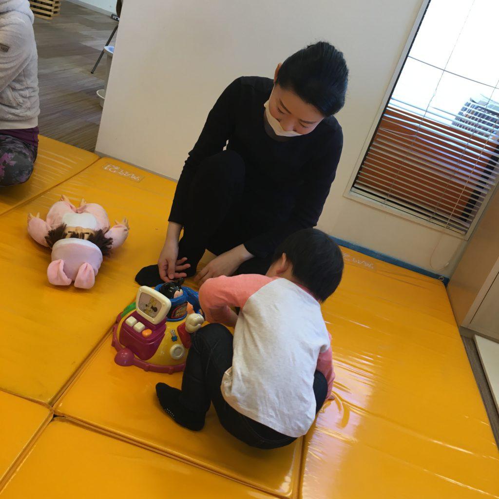 【黒川店】ベビータッチ&ママストレッチセミナー開催しました👶