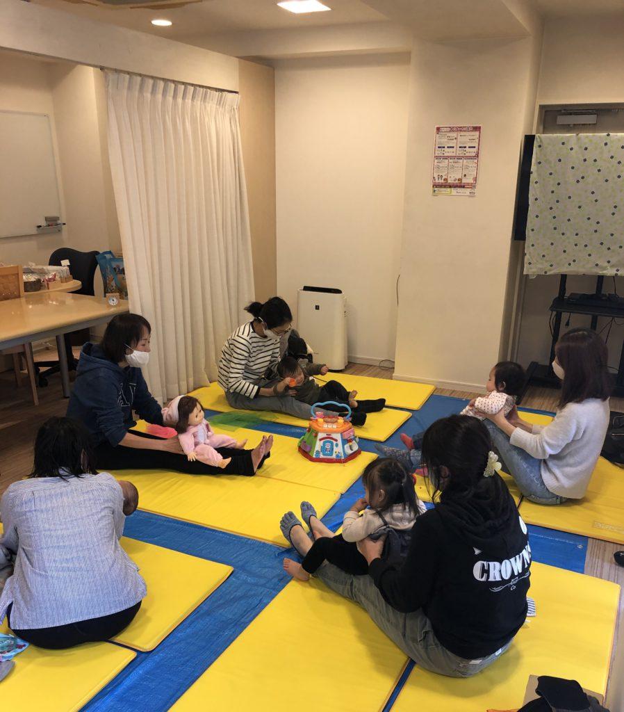 2021.3.11【守山店】👶ベビータッチ&ママストレッチセミナー👶