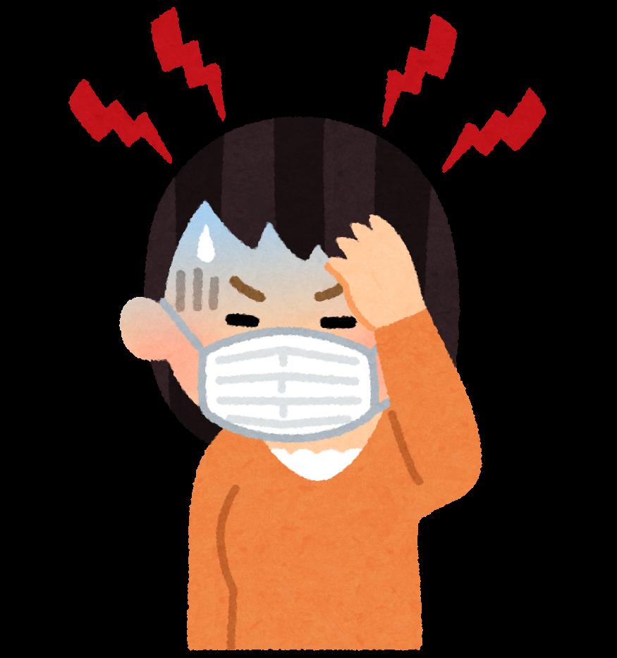 【植田店】マスク頭痛にご注意👆